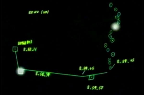 il tracciato radar